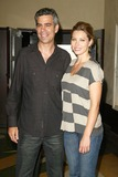 Michael London Photo - Michael London and Jessica Bielat the sneak preview of The Illusionist Aero Theatre Santa Monica CA 07-28-06