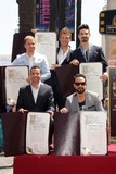 AJ MCLEAN Photo - Brian Littrell Howie Dorough Nick Carter AJ McLean Kevin Richardsonat the Backstreet Boys Star on the Walk of Fame Hollywood CA 04-22-13