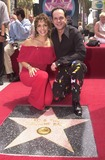 KC and the Sunshine Band Photo - Karry Wayne KC Casey and Maria De Crescenzo at KC and The Sunshine Band induction ceremony into Hollywoods Walk of Fame Hollywood Blvd CA 08-02-02