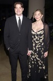 Afton Smith Photo -  Brendan Fraser and wife Afton Smith at the first Hollywood Make-Up and Hair Stylist Awards Beverly Hills 03-19-00