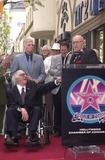 Ray Bradbury Photo - Ray Bradbury and Rod Steiger at the Star on the Walk of Fame ceremony 04-01-02