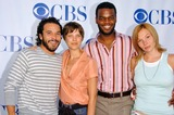 Abby Brammell Photo - Michael Irby and Audrey Marie Anderson with Demore Barnes and Abby Brammellat CBSs TCA Press Tour The Rose Bowl Pasadena CA 07-15-06
