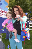 Amy Yasbeck Photo -  Amy Yasbeck and daughter Stella at the premiere of Paramounts Blues Big Musical Movie Universal City 09-23-00