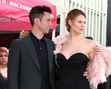 Adam Levine Photo - LOS ANGELES - FEB 10  Adam Levine Behati Prinsloo at the Adam Levine Hollywood Walk of Fame Star Ceremony at Musicians Institute on February 10 2017 in Los Angeles CA