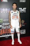 Nyjah Huston Photo - LOS ANGELES - JUL 8  Nyjah Huston at the Monster Energy 50K Charity Challenge Celebrity Basketball Game at the Pauley Pavillion on July 8 2019 in Westwood CA