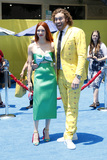 TJ Miller Photo - LOS ANGELES - JUL 23  Kate Gorney TJ Miller at The Emoji Movie Premiere at the Village Theater on July 23 2017 in Westwood CA