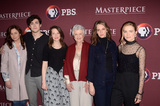 Annes Elwy Photo - LOS ANGELES - JAN 16  Emily Watson Jonah Hauer-King Annes Elwy Angela Landsbury Maya Hawke Willa Fitzgerald at the PBS Masterpiece Little Women TV show panel Arrivals TCA Winter Press Tour at the Langham Huntington Hotel on January 16 2018 in Pasadena CA
