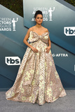 Nathalie  Photo - LOS ANGELES - JAN 19  Nathalie Emmanuel at the 26th Screen Actors Guild Awards at the Shrine Auditorium on January 19 2020 in Los Angeles CA