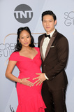 Harry Shum Jr Photo - LOS ANGELES - JAN 27  Shelby Rabara Harry Shum Jr at the 25th Annual Screen Actors Guild Awards at the Shrine Auditorium on January 27 2019 in Los Angeles CA