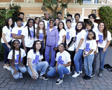 Dionne Warwick Photo - LOS ANGELES - JAN 28  Dionne Warwick Hollywood High School Choir at the 35th Anniversary of We Are The World at the Henson Recording Studios on January 28 2020 in Los Angeles CA