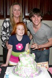 Lacianne Carriere Photo - LOS ANGELES - FEB 15  Dyna Mitte Lacianne Carriere RJ Mitte at the Lacianne Carriere birthday party at the El Capitan Theater on February 15 2013 in Los Angeles CA