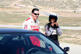 Adam Carolla Photo - Adam Carolla  Tika Sumpterat the Toyota Pro-Celeb Race Training in Preparation for the Toyota Long Beach Grand Prix Celebrity Race Willow Springs RacewayRosamond CAMarch 20 2010