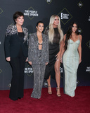 Kris Jenner Photo - LOS ANGELES - NOV 10  Kris Jenner Kourtney Kardashian Khloe Kardashian Kim Kardashian West at the 2019 Peoples Choice Awards at Barker Hanger on November 10 2019 in Santa Monica CA