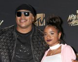 Nina Simone Photo - LOS ANGELES - MAY 7  Simone Smith LL Cool J Nina Simone Smith at the MTV Movie and Television Awards on the Shrine Auditorium on May 7 2017 in Los Angeles CA