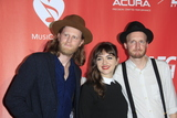 The Lumineers Photo - LOS ANGELES - FEB 10  The Lumineers Wesley Schultz Neyla Pekarek Jeremiah Caleb Fraites at the Musicares Person of the Year honoring Tom Petty at Los Angeles Convention Center on February 10 2017 in Los Angeles CA