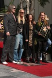 Barbara Orbison Photo - Barbara Orbison (2R) who is the wife of deceased singer Roy Orbison and his sons Wesley (L) Alex (2nd L) and Roy Orbison Jr (R) Hollywood Walk of Fame Star Ceremony for Roy Orbison Capitol Records buildingLos Angeles CAJanuary 29 2010
