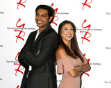 Abhi Sinha Photo - LOS ANGELES - AUG 19  Abhi Sinha Laur Allen at the Young and Restless Fan Event 2017 at the Marriott Burbank Convention Center on August 19 2017 in Burbank CA