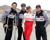 Daniel Goddard Photo - LOS ANGELES - MAR 19  Daniel Goddard Stephen Moyer Megyn Price AJ Buckley at the Toyota ProCelebrity Race Training Session at Willow Springs Speedway on March 19 2011 in Rosamond CA
