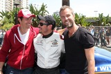 Nick Wechsler Photo - LOS ANGELES - APR 12  Michael Trucco Nick Wechsler JR Bourne at theLong Beach Grand Prix Race Circuit at Long Beach Grand Prix Race Circuit on April 12 2014 in Long Beach CA