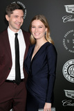Ashley Hinshaw Photo - LOS ANGELES - JAN 6  Topher Grace Ashley Hinshaw at the The Art of Elysium presents John Legends HEAVEN at Barker Hanger on January 6 2018 in Santa Monica CA