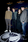 Tom Holland Photo - LAS VEGAS - MAR 27  Jon Watts Tom Holland Amy Pascal Kevin Feige at the Sony CinemaCon Photocall at the Caesars Palace on March 27 2017 in Las Vegas NV