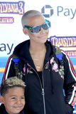 Amber Rose Photo - LOS ANGELES - JUN 30  Sebastian Taylor Thomaz Amber Rose at the Hotel Transylvania 3 Summer Vacation World Premiere at the Village Theater on June 30 2018 in Westwood CA