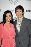 Anel Lopez Photo - LOS ANGELES - FEB 27  Anel Lopez Gorham Christopher Gorham arrives at the PaleyFest Icon Award 2013 at the Paley Center For Media on February 27 2013 in Beverly Hills CA