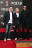 Harald Kloser Photo - LOS ANGELES - JUN 20  Harald Kloser Roland Emmerich Jeff Goldblum at the Roland Emmerich Hand And Footprint Ceremony at the TCL Chinese Theater IMAX on June 20 2016 in Los Angeles CA