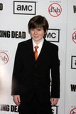 Chandler Riggs Photo - LOS ANGELES - OCT 4  Chandler Riggs arrives at The Walking Dead 3rd Season Premiere Screening at Universal Citywalk on October 4 2012 in Los Angeles CA