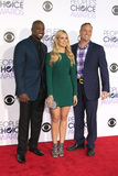 Akbar Gbaja-Biamila Photo - LOS ANGELES - JAN 6  Matt Iseman Kristine Leahy Akbar Gbaja-Biamila at the Peoples Choice Awards 2016 - Arrivals at the Microsoft Theatre LA Live on January 6 2016 in Los Angeles CA