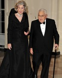 Henry A Kissinger Photo - State Dinner Honoring President Hu Jintao of ChinaRESTRICTED NEW YORKNEW JERSEY OUTNO NEW YORK OR NEW JERSEY NEWSPAPERS WITHIN A 75 MILE RADIUS OF NYCFormer United States Secretary of State Henry A Kissinger and his wife Nancy arrive for the State Dinner in honor of President Hu Jintao of China at the White House In Washington DC on Wednesday January 19 2011 Photo by Ron SachsCNP-PHOTOlinknet