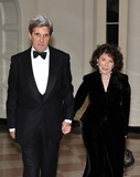 Teresa Heinz-Kerry Photo - State Dinner Honoring President Hu Jintao of ChinaRESTRICTED NEW YORKNEW JERSEY OUTNO NEW YORK OR NEW JERSEY NEWSPAPERS WITHIN A 75 MILE RADIUS OF NYCUnited States Senator John Kerry (Democrat of Massachusetts) and Teresa Heinz Kerry arrive for the State Dinner in honor of President Hu Jintao of China at the White House In Washington DC on Wednesday January 19 2011 Photo by Ron SachsCNP-PHOTOlinknet