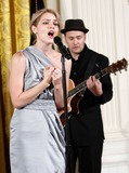 Alex Wong Photo - Singer Katharine McPhee performs during a reception in honor of International Womens Day hosted by US President Barack Obama and first lady Michelle Obama at the East Room of the White House Monday March 8 2010 in Washington DC The reception honored women from around the world and their achievements   Photo by Alex WongPool-CNP-PHOTOlinknet