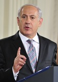 Benjamin Netanyahu Photo - Peace Talks8251JPGRESTRICTED NEW YORKNEW JERSEY OUTNO NEW YORK OR NEW JERSEY NEWSPAPERS WITHIN A 75 MILE RADIUS OF NYCPrime Minister Benjamin Netanyahu of Israel makes remarks in the East Room of the White House following a series bi-lateral meetings in Washington DC on Wednesday September 1 2010  The statements are in advance of the opening of the first direct talks in two years between Israel and the Palestinian Authority scheduled to begin at the State Department in Washington DC tomorrow  Photo by Ron SachsPoolCNP-PHOTOlinknet
