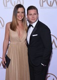 Allen Leech Photo - Photo by KGC-11starmaxinccomSTAR MAX2015ALL RIGHTS RESERVEDTelephoneFax (212) 995-119612415Charlie Webster and Allen Leech at the 26th Annual Producers Guild of America (PGA) Awards(Los Angeles CA)