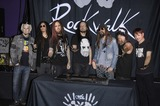 Jonathan Davis Photo - John 5 James Munky Shaffer Brian Welch Jonathan Davis Rob Zombie Fieldy and Ray Luzier during the induction ceremony to install KORN into the Guitar Centers ROCKWALK on October 8 2013 in Los AngelesPhoto Michael Germana Star Max