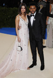 Selena Gomez Photo - Photo by XPXstarmaxinccomSTAR MAXCopyright 2017ALL RIGHTS RESERVEDTelephoneFax (212) 995-11965117Selena Gomez and The Weeknd at the 2017 Costume Institute Gala - Rei KawakuboComme des Garcons Art Of The In-Between(Metropolitan Museum of Art NYC)
