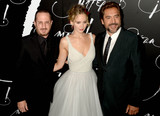 DARRENE ARONOFSKY Photo - Photo by Dennis Van TinestarmaxinccomSTAR MAX2017ALL RIGHTS RESERVEDTelephoneFax (212) 995-119691317Darren Aronofsky Jennifer Lawrence and Javier Bardem at the premiere of Mother in New York City