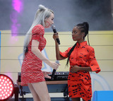 Arthur Ash Photo - Photo by John NacionstarmaxinccomSTAR MAX2018ALL RIGHTS RESERVEDTelephoneFax (212) 995-119682518Kim Petras and Shar Jackson at the 2018 Arthur Ashe Kids Day in New Yor City