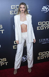 Abbey Lee Photo - Photo by Patricia SchleinstarmaxinccomSTAR MAX2016ALL RIGHTS RESERVEDTelephoneFax (212) 995-119622416Abbey Lee at the premiere of Gods of Egypt(NYC)