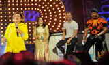 Abbi Jacobson Photo - Photo by Demis MaryannakisstarmaxinccomSTAR MAX2015ALL RIGHTS RESERVEDTelephoneFax (212) 995-119671315IIlana Glazer Abbi Jacobson Derek Hough and LL Cool J at Lip Sync Battle LIVE(Central Park SummerStage NYC)