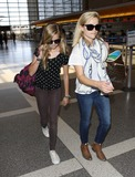 Ava Phillippe Photo - Photo by MCRFstarmaxinccom2013ALL RIGHTS RESERVEDTelephoneFax (212) 995-119653113Reese Witherspoon and Ava Phillippe at LAX(Los Angeles CA)