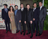 Adria Arjona Photo - Photo by Patricia SchleinstarmaxinccomSTAR MAX2019ALL RIGHTS RESERVEDTelephoneFax (212) 995-11963319Garrett Hedlund Adria Arjona Pedro Pascal Oscar Isaac Charlie Hunnam and Ben Affleck at the premiere of Triple Frontier in New York City