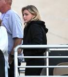 Chloe Moretz Photo - Photo by gotpapPRPhotoscom10316Chloe Moretz arrives at Jimmy Kimmel Live