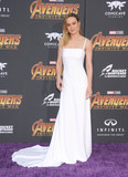 Brie Larson Photo - Photo by GalaxystarmaxinccomSTAR MAX2018ALL RIGHTS RESERVEDTelephoneFax (212) 995-119642318Brie Larson at the premiere of Marvels Avengers Infinity War in Los Angeles CA