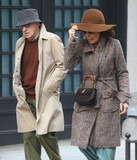 As Yet Photo - Photo by KGC-146starmaxinccomSTAR MAXCopyright 2016ALL RIGHTS RESERVEDTelephoneFax (212) 995-11963716Woody Allen and Elaine May on the set of the as yet untitled Woody Allen Television Series Production for Amazon Studios(NYC)