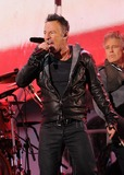 Bruce Springsteen Photo - Photo by GWRstarmaxinccomSTAR MAX2014ALL RIGHTS RESERVEDTelephoneFax (212) 995-119612114Bruce Springsteen and U2 at a free benefit concert honoring World AIDS Day(Times Square)