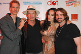 Valerie Perez Photo - NORTH HOLLYWOOD CA - SEPTEMBER 17 Actor Doug Jones  actor Gary Graham actress Valerie Perez and director Harry Kloor at A Night of Science Fiction Fantasy  Horror in Conjunction with The Burbank Film Festival After Party at TDJ Studios on September 17 2011  in North Hollywood California  (Albert L OrtegaImageCollectcom)