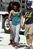 Annie  Ilonzeh Photo - Annie Ilonzeh on the set of the new Charlies Angels television series Drew Barrymore who starred in the blockbuster films is one of the executive producers on the new show Charlies Angels is due to premiere in September 2011 Miami Beach FL 31611