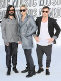 30 Seconds to Mars Photo - Jared Leto Tomo Milicevic and Shannon Leto of 30 Seconds to Mars arrive at the 2010 MTV Video Music Awards held at the Nokia Theatre Los Angeles CA 091210